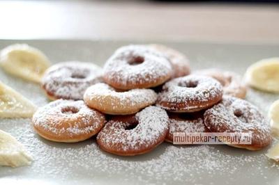 Пончики из творога для мультипекаря